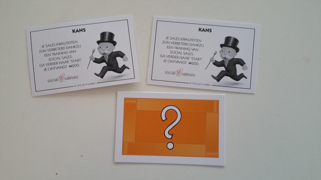 Social Sales kanskaart Monopoly Rotterdam
