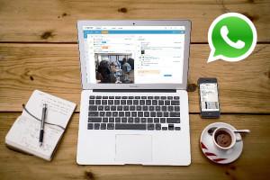 Webcare via Whatsapp in OBI4wan
