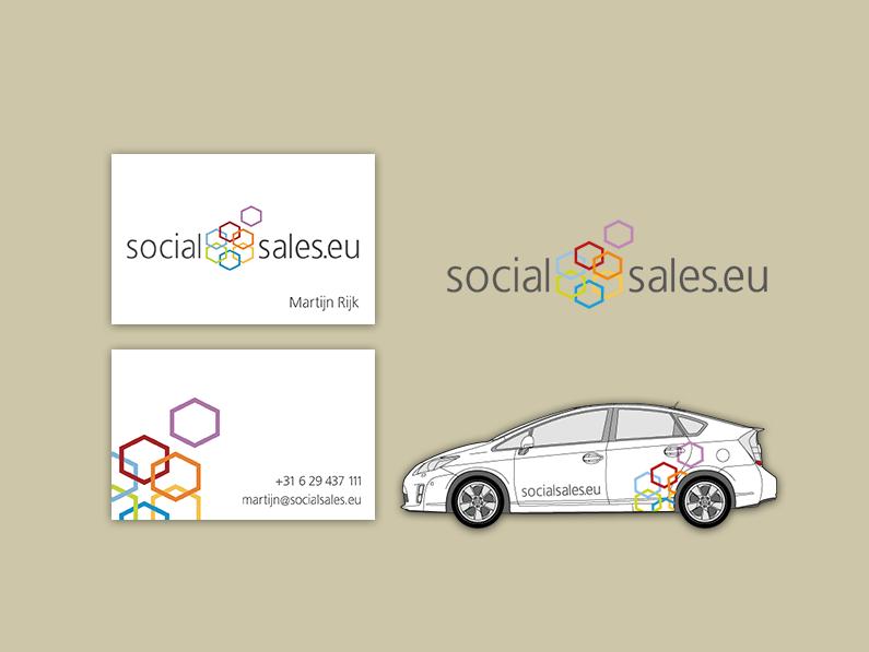 Logo Social Sales door Studio Zoolies